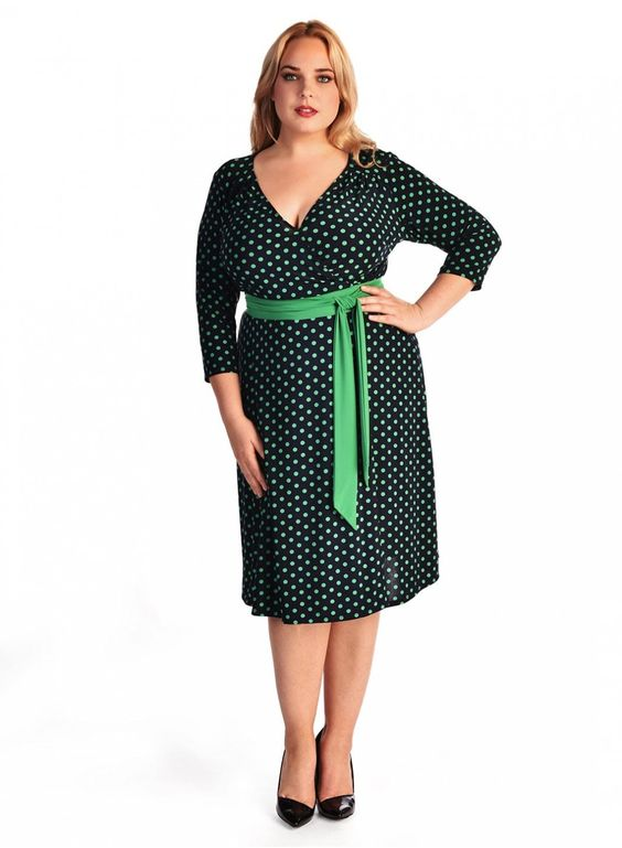 Dominique Dress in Mod Dot. Get 40% off this dress and all day dresses at IGIGI by clicking on this photo and entering THANKS40. Offer valid through 11/26/15
