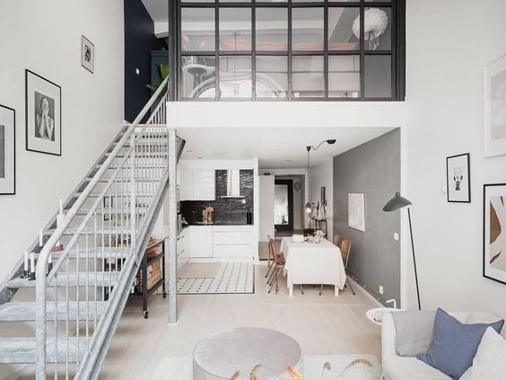 The Nordroom - A Bright Scandinavian Loft Apartment