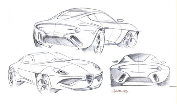 Disco Volante 2013 - Design Sketches