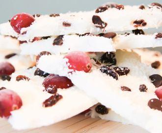 Gezonde snack: de frozen yoghurt reep
