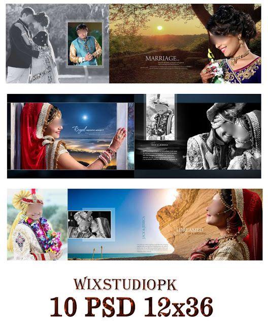 Royal Wedding Album Design Psd Free Download 12x36 2019 Album