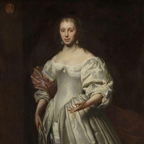Portret van Cornelia Craen van Haeften (1622-1678), Cornelis Janssens van Ceulen (II), 1663 - 1678 - Rijksmuseum: