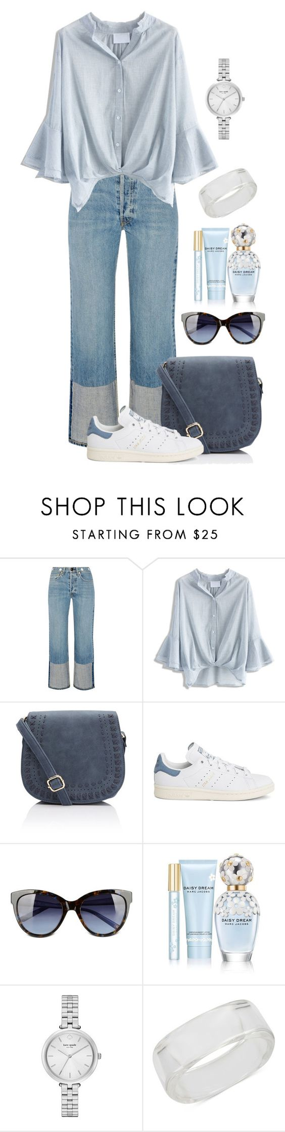 """Untitled #1529"" by ebramos on Polyvore featuring rag & bone, Chicwish, adidas, Love Moschino, Marc Jacobs, Kate Spade and INC International Concepts"