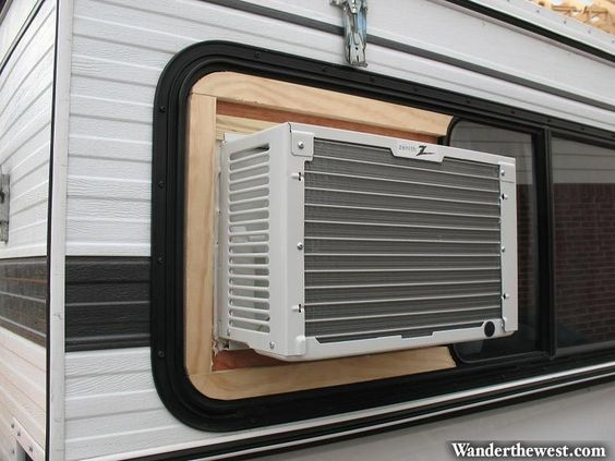 Best ideas about mounting air camping diy 39 s and travel for 14 inch window air conditioner