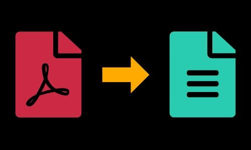 Pdf To Text In 2020 Pdf To Text Text Converter