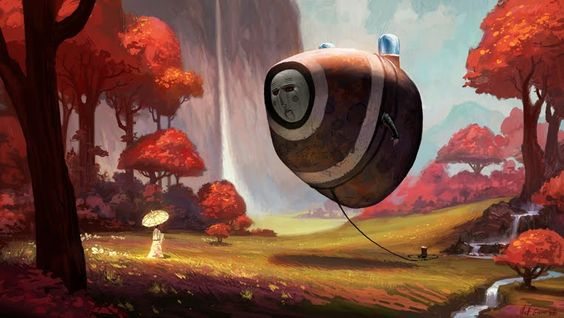 fantastical paintings - Google Search