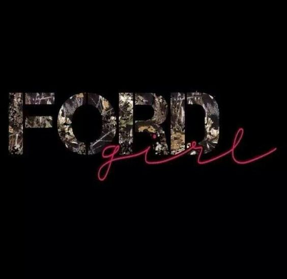 Always will be a ford girl i dont care wat anybody says about fords!!!!!♥♥