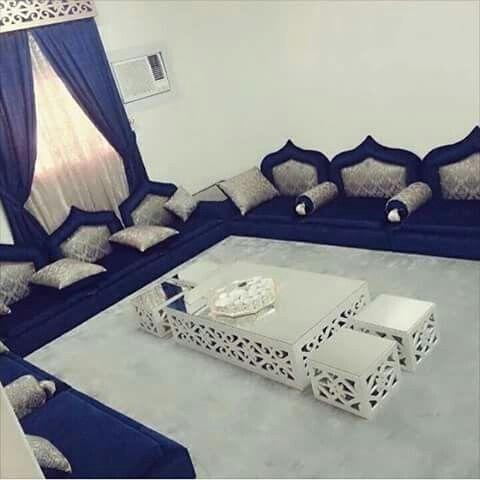 ارقى الموديلات لصلونات عربية فخمة صالونات ارضية رائعة و انيقة مستوحات من ديكور صالونات عربية Living Room Sofa Design Moroccan Home Decor Drawing Room Decor