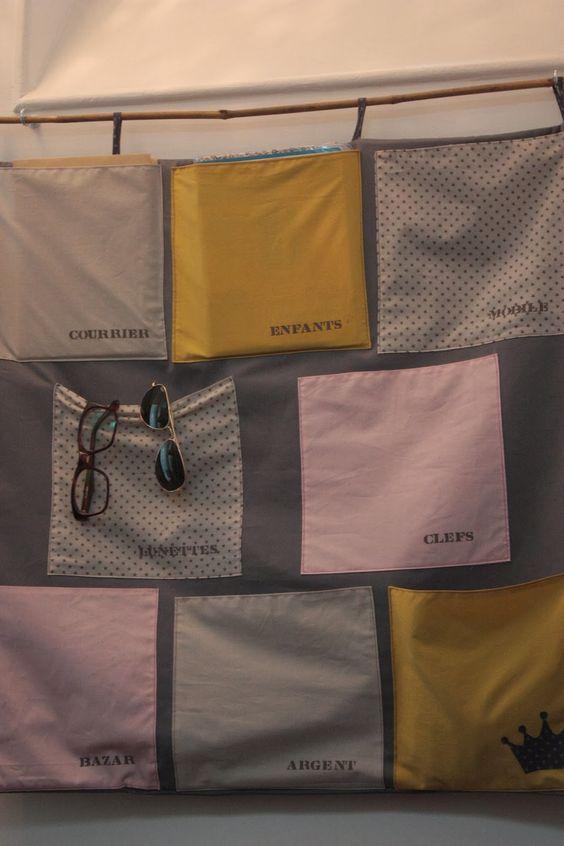joli vide poche en tissus fds maison assistantes. Black Bedroom Furniture Sets. Home Design Ideas