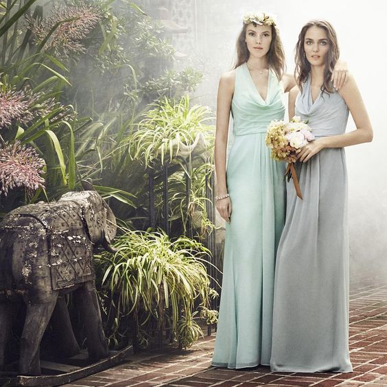 Start of the weekend with savings for you and your 'maids! During the Biggest Bridal Sale of the Season, we're giving you $20 off of all regular price bridesmaid dresses! #DBMaids | Shared via davidsbridal.com