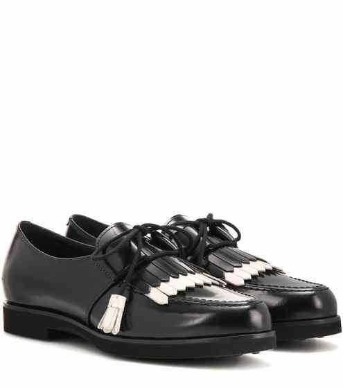 Loafers aus Leder mit Fransen | Tod's