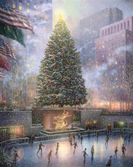 Thomas Kinkade, Rockefeller Center Christmas Tree