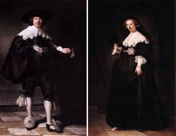 Kortzichtigheid en hebzucht regeren de wereld. Als de erfgenamen van Jacob van Lenneps tante Annewies minder hebberig waren geweest, waren Rembrandts portretten van Maerten Soolmans en Oopjen Coppi…