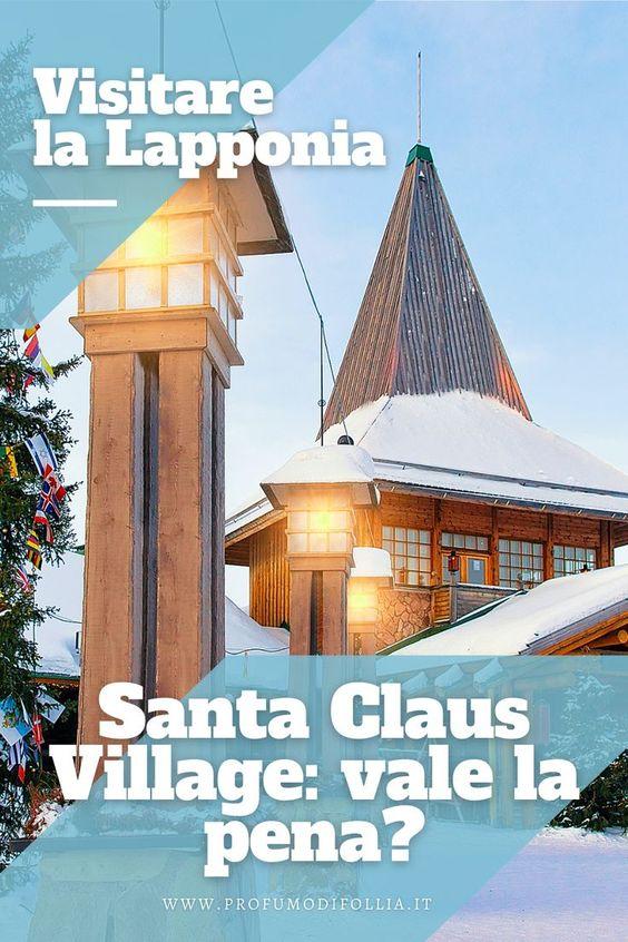 Casa di Babbo Natale Lapponia: immagine Pinterest