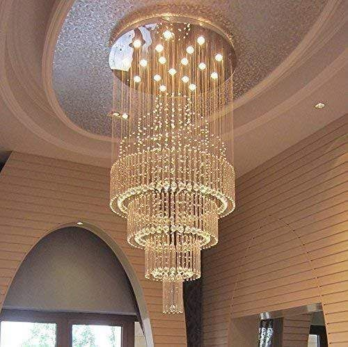 Double Spiral Hanging Chandelier Ceiling Lamp In 2020 Modern Ceiling Lamps Hanging Ceiling Lights Hanging Ceiling Lamps