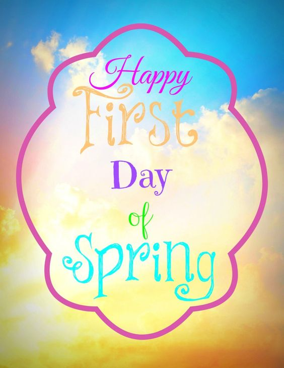 Happy first day of spring words to live by pinterest first day of spring first day - Happy spring day image quotes ...