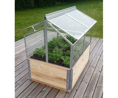 Vitavia Gaia Drivhus Til Bed Garden Frame Garten Backyard