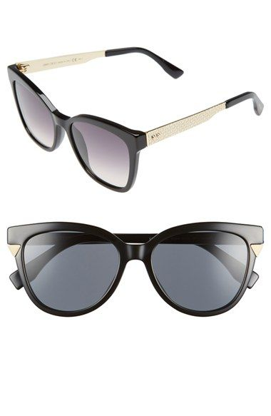 Fendi 53mm Cat Eye Sunglasses
