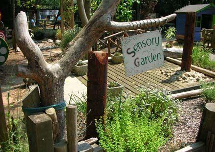Glorious Sensory Garden- I wish this was our backyard!