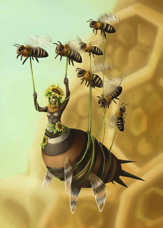 ~Who is born and who must die And who will wedded be Your ills, your woes, your dreams and hopes, go and tell the bees.~: