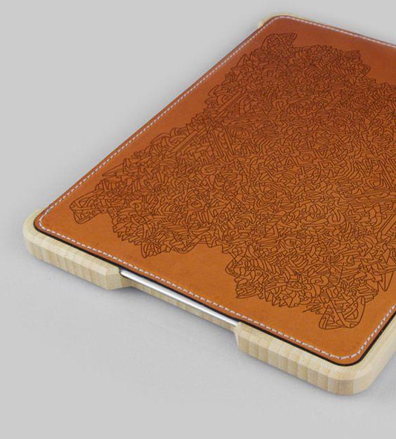 Groove fabrique et vend des coques pour iPhone et IPad en bambou que l'on peut personnaliser. Chaque produit est fait à la main et le rendu est superbe.