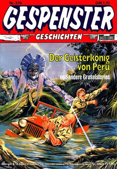 Cover for Gespenster Geschichten (Bastei Verlag, 1974 series) #375