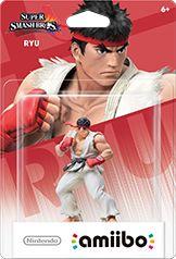 Ryu amiibo Box Art