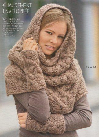 Les petits tricots de Magik Pôpô: Col écharpe Milanese Loop
