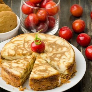 Coffee Marble Cheesecake | Recipe4Living
