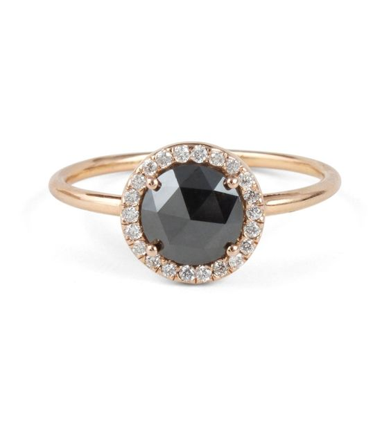 Catbird :: shop by category :: JEWELRY :: Wedding & Engagement :: Aura Ring, Black Diamond
