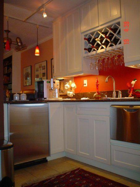 Studio Kitchen Wine Rack Over Sink Decorating Idaes