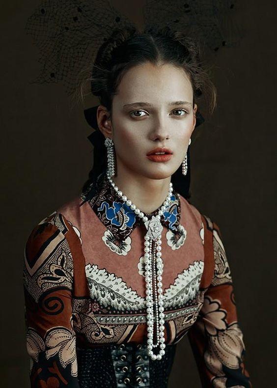 Alice Tubilewicz by Kiki Xue for Vogue Gioiello, March 2015
