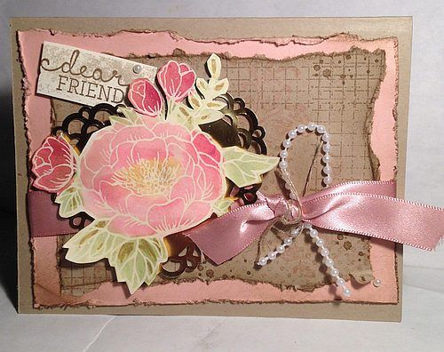 Vintage Friends - Stamping in Winchester, VA, with Buffy Cooper
