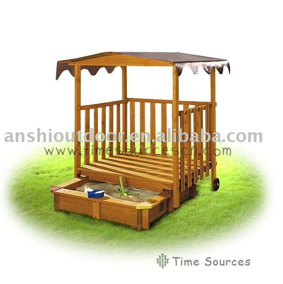 Wooden playhouse kits outdoor wood playhouse shed kids for Outdoor playhouse kit