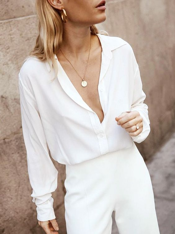 Summer Whites That Are Making Our Outfits Instantly Chicer via @WhoWhatWearUK