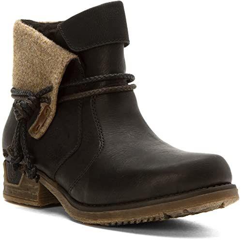 New Rieker Women's Fee 93 Boots Women shoes. [$64.99