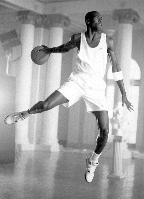 Michael Jordan. He can fly!