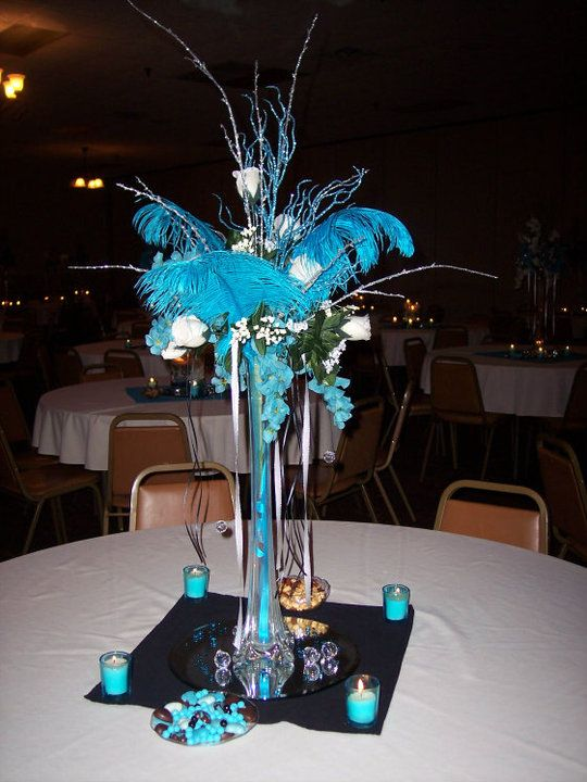 Love this feather centerpiece but if i use it one day