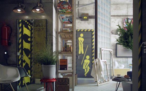 Stek Magazine 01, 2014. Binnenkijken in St. Petersburg Rusland. Ontworpen door architect Maxim Zhukov