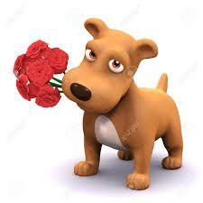 Resultado de imagen para perros con flores: