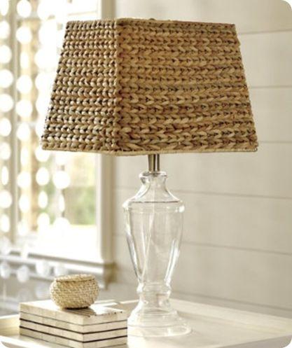 Natural Woven Lampshade