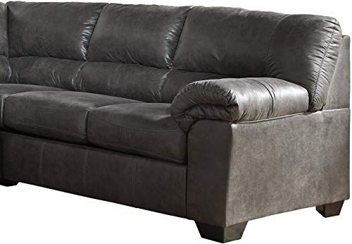 Buy Signature Design Ashley Bladen Contemporary Right Arm Facing Loveseat Sectional Component Only Slate Online In 2020 Signature Design Love Seat Best Sofa