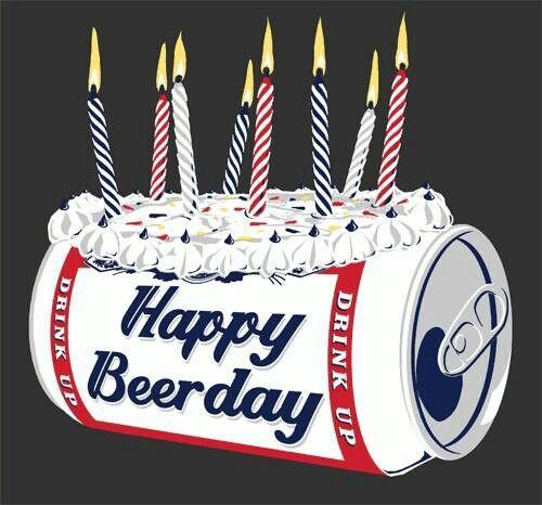 Feliz cumple. Happy birthday. Happy beerday.                                                                                                                                                      Más