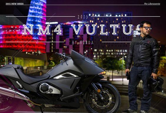 Probamos en exclusiva la carismática Honda NM4 Vultus, una moto que ha sido fabricada por el mero placer de crearla.