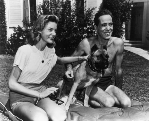 Lauren Bacall and Humphrey Bogart: