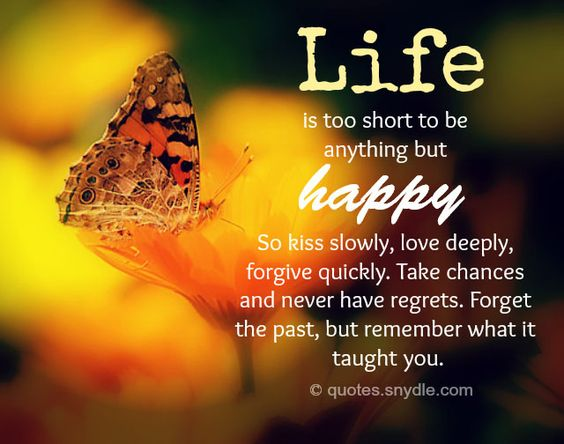 Amazing Life Quotes Images: 40 Amazing Life Is Too Short Quotes And Sayings With