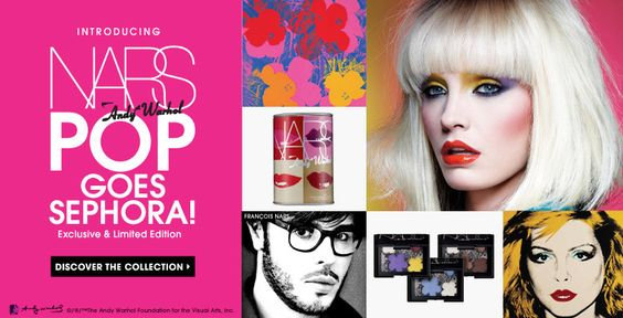 INTRODUCING NARS Andy Warhol | POP GOES SEPHORA! | Exclusive & Limited Edition | Discover the collection >