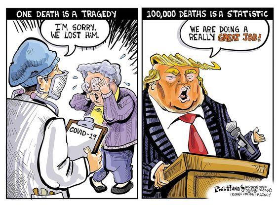 Cartoons on President Donald Trump | US News