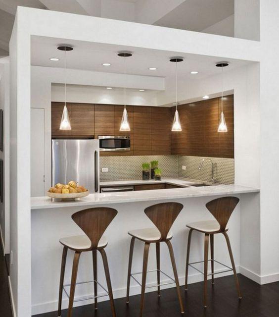 Decoracion cocina peque a google search decoracion for Catalogos de cocinas pequenas