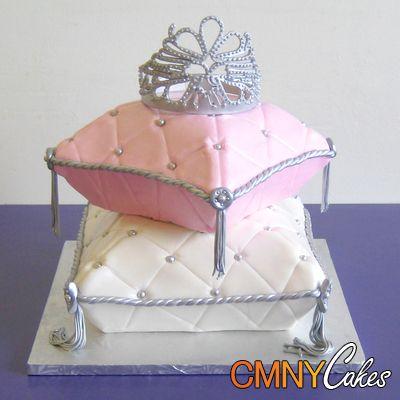 http://cmnycakes.com/gallery2/d/21477-7/Silver+Tiara+Princess+Pillow+Cake